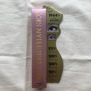 Too Faced Better Than Sex Mascara Brand New Black